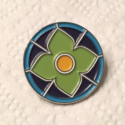Stained Glass Pin